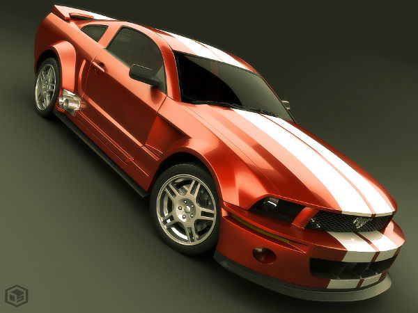 Mustang 2005 Red Version by siregar