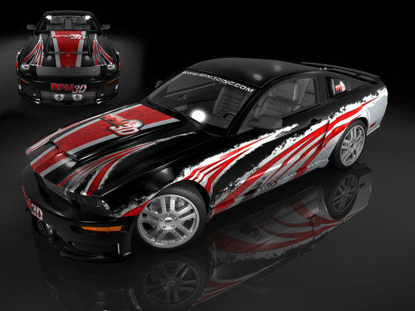 Mustang Concept 16 by nascar3d