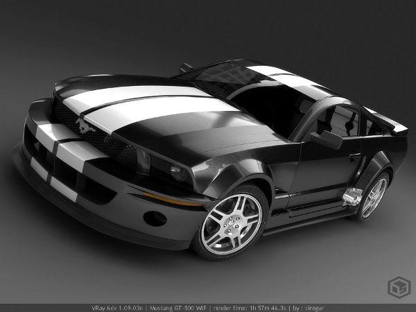 Mustang WIP 6 by siregar