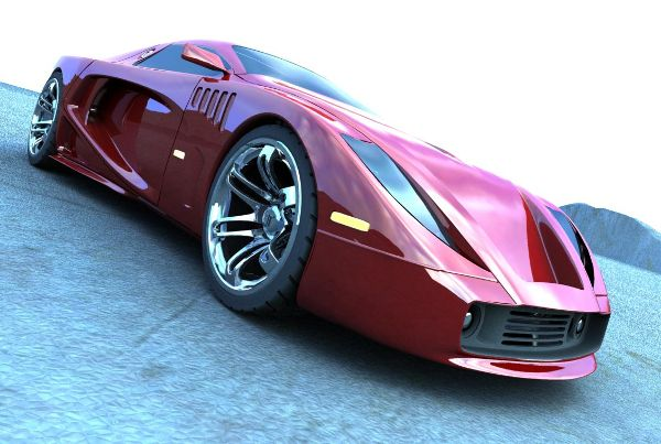 ZION Concept car design