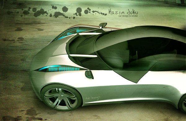 concept desing car xenon by kazimdoku