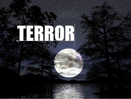 palavra terror na imagem