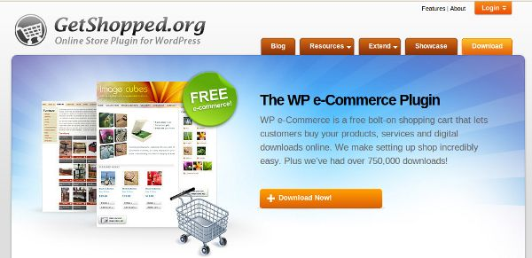 wp e-commerce site