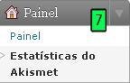 Estatísticas do Akismet