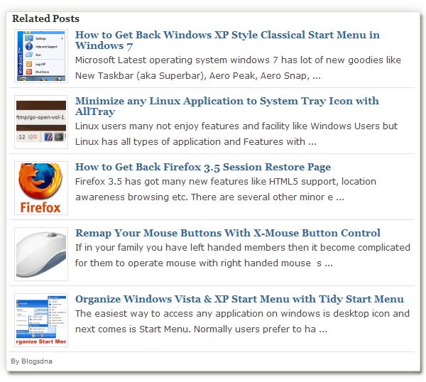 artigos relacionados