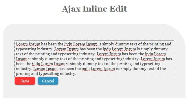 Como Criar Edição Inline Com jQuery