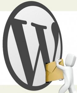 email wordpress