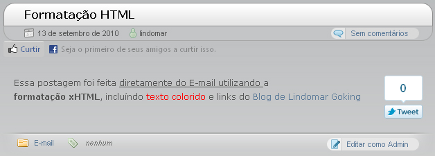 tags xHTML