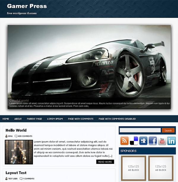 gamerpress binuthemes