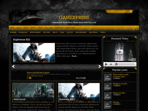 gamerpress web2feel