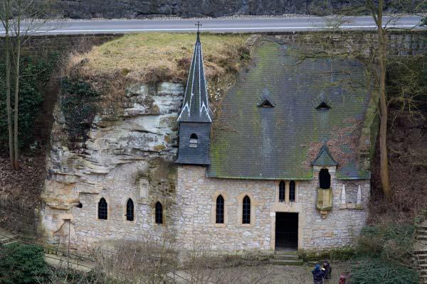igreja na rocha luxemburgo