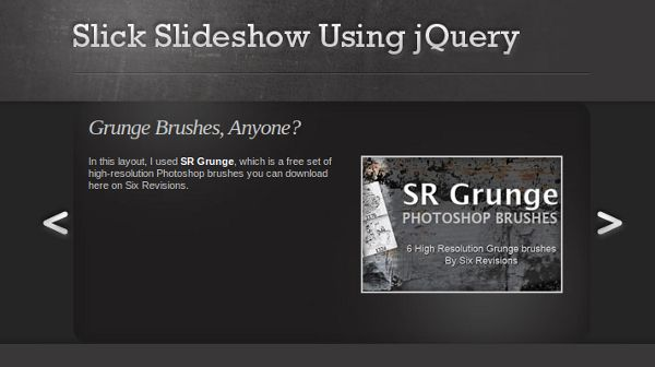 slideshow sixrevisions