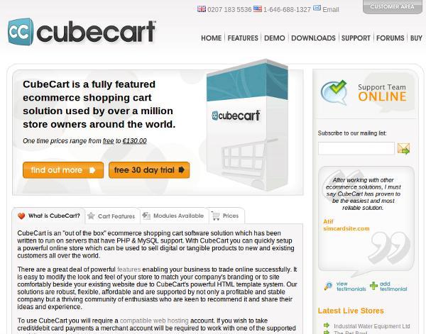 Cube Cart