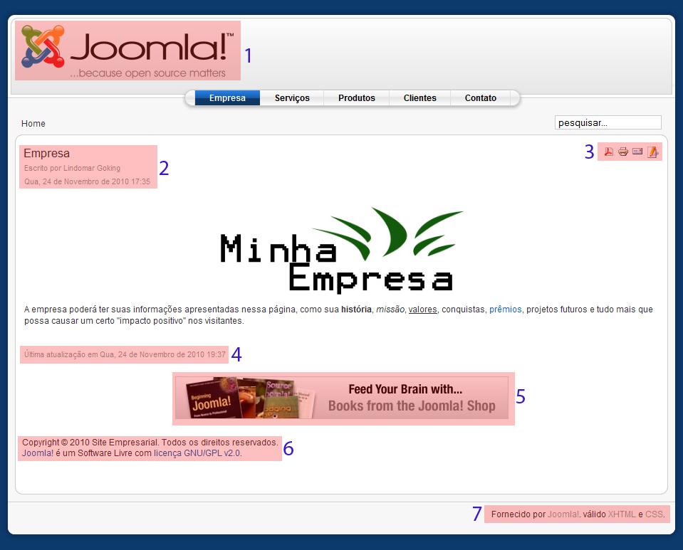 Como Criar Um Site Em Joomla Para A Sua Empresa - Super Manual - Parte 15