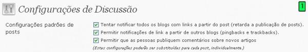 Configurações Do WordPress Parte4 Discussão