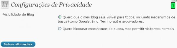 Configurações Do WordPress Parte6 Privacidade e Links Permanentes