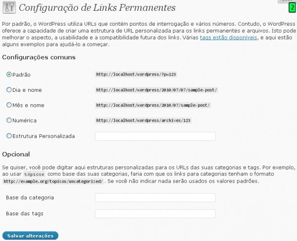 Links Permanentes
