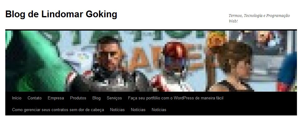 Guia WordPress 3 Parte7 - Cabeçalho Personalizado
