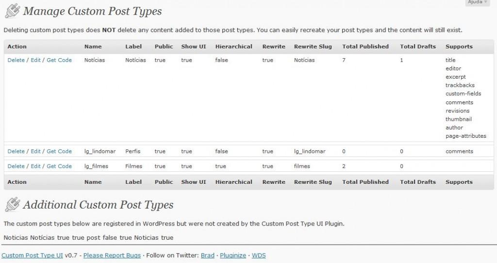 Guia WordPress 3 Parte11 – Plugins Posts Personalizados E Novas Taxonomias 3
