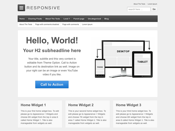52 Temas WordPress Responsive