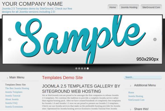 30 Templates Joomla Grátis Para Empresas