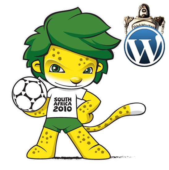 WordPress Themes - Copa do Mundo 2010